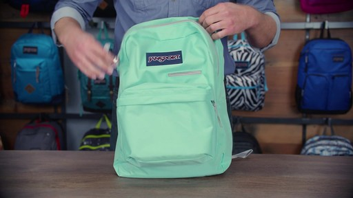 JanSport - Digibreak Laptop Backpack - image 5 from the video