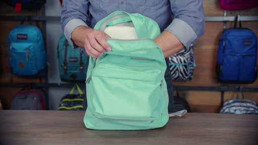 JanSport - Digibreak Laptop Backpack - image 6 from the video