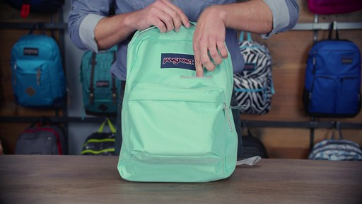 JanSport - Digibreak Laptop Backpack - image 7 from the video