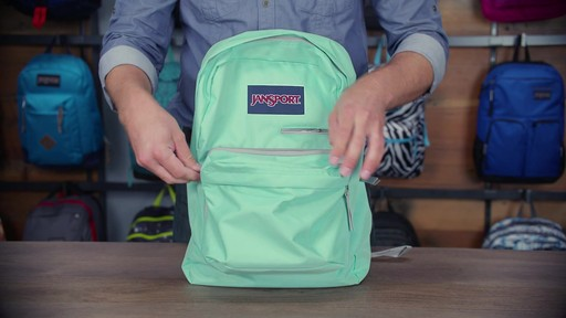 JanSport - Digibreak Laptop Backpack - image 8 from the video