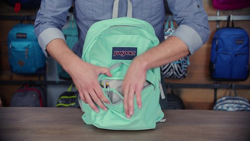 JanSport - Digibreak Laptop Backpack - image 9 from the video
