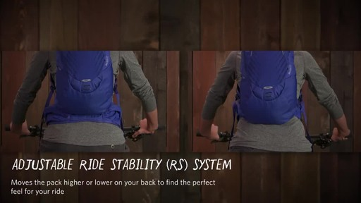 Gregory Womens Avos 3D-Hydro Backpack - image 2 from the video