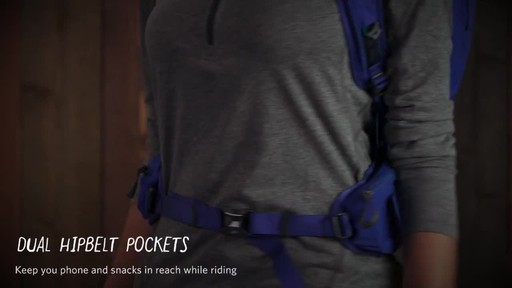 Gregory Womens Avos 3D-Hydro Backpack - image 3 from the video