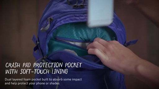 Gregory Womens Avos 3D-Hydro Backpack - image 7 from the video