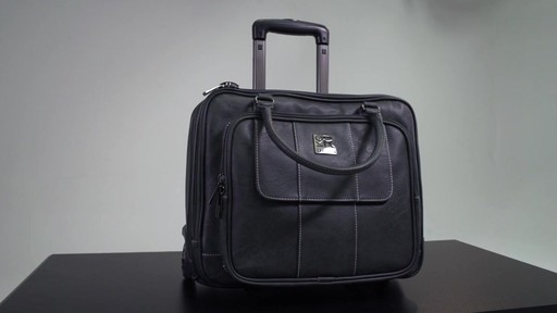 Kenneth Cole Reaction It's Wheel-y Late Rolling Laptop Case Bag - on eBags.com - image 1 from the video