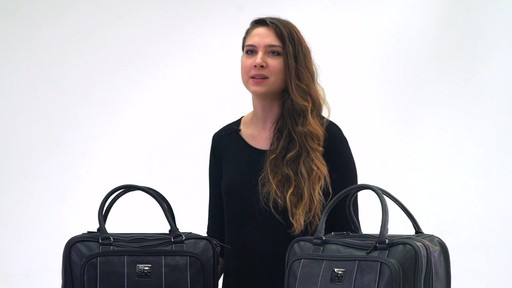 Kenneth Cole Reaction It's Wheel-y Late Rolling Laptop Case Bag - on eBags.com - image 2 from the video