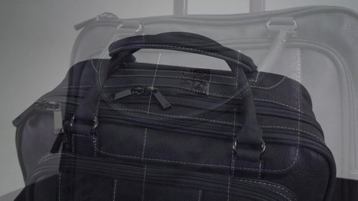 Kenneth Cole Reaction It's Wheel-y Late Rolling Laptop Case Bag - on eBags.com - image 3 from the video