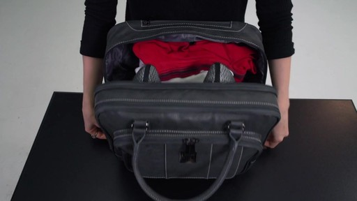 Kenneth Cole Reaction It's Wheel-y Late Rolling Laptop Case Bag - on eBags.com - image 5 from the video