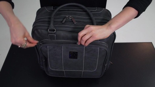 Kenneth Cole Reaction It's Wheel-y Late Rolling Laptop Case Bag - on eBags.com - image 6 from the video