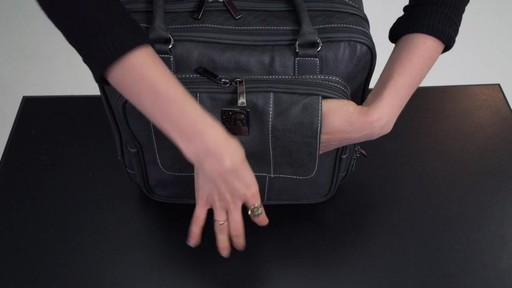 Kenneth Cole Reaction It's Wheel-y Late Rolling Laptop Case Bag - on eBags.com - image 8 from the video