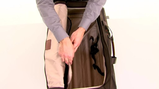 Tumi Alpha 2 Large Wheeled Split Duffel - eBags.com - image 4 from the video