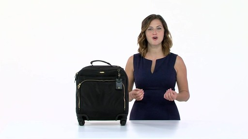 Tumi Voyageur Oslo 4 Wheel Compact Carry On - Shop eBags.com - image 1 from the video