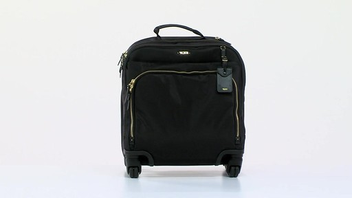 Tumi Voyageur Oslo 4 Wheel Compact Carry On - Shop eBags.com - image 10 from the video