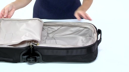 Tumi Voyageur Oslo 4 Wheel Compact Carry On - Shop eBags.com - image 2 from the video