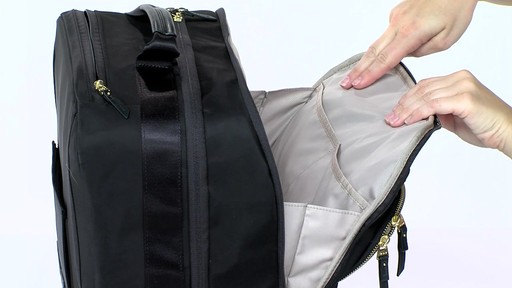Tumi Voyageur Oslo 4 Wheel Compact Carry On - Shop eBags.com - image 3 from the video