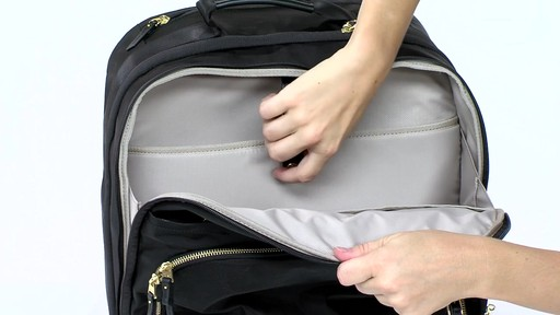 Tumi Voyageur Oslo 4 Wheel Compact Carry On - Shop eBags.com - image 4 from the video