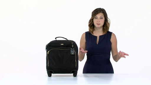 Tumi Voyageur Oslo 4 Wheel Compact Carry On - Shop eBags.com - image 9 from the video