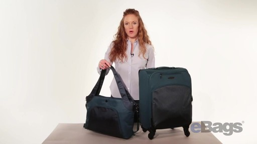 baggallini Stanza Tote & Chord Roller - eBags.com - image 1 from the video