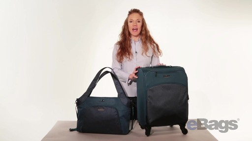 baggallini Stanza Tote & Chord Roller - eBags.com - image 6 from the video