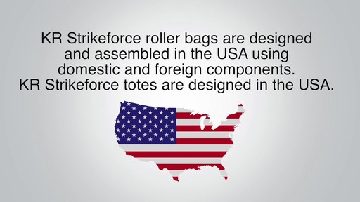 KR Strikeforce Bowling Krush Double Bowling Ball Roller Bag - eBags.com - image 10 from the video