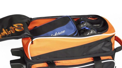 KR Strikeforce Bowling Krush Double Bowling Ball Roller Bag - eBags.com - image 5 from the video