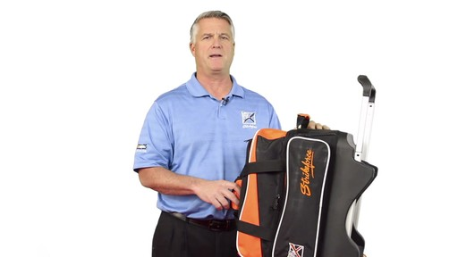 KR Strikeforce Bowling Krush Double Bowling Ball Roller Bag - eBags.com - image 7 from the video
