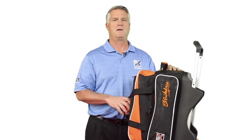 KR Strikeforce Bowling Krush Double Bowling Ball Roller Bag - eBags.com - image 9 from the video
