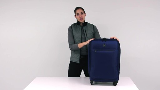 Victorinox Avolve Expandable Luggage - on eBags.com - image 1 from the video