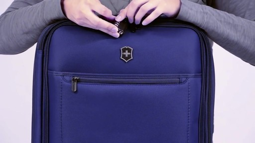 Victorinox Avolve Expandable Luggage - on eBags.com - image 10 from the video
