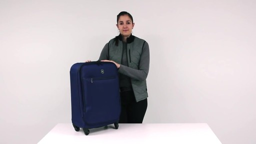 Victorinox Avolve Expandable Luggage - on eBags.com - image 4 from the video
