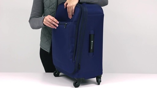 Victorinox Avolve Expandable Luggage - on eBags.com - image 6 from the video