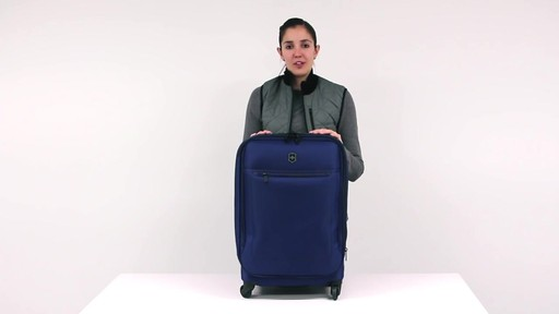 Victorinox Avolve Expandable Luggage - on eBags.com - image 9 from the video