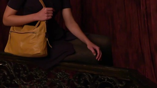 The Sak Esperato Flap Hobo - image 4 from the video