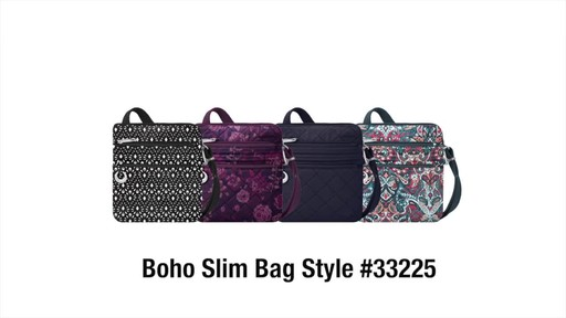 Travelon Anti-Theft Boho Slim Bag - image 10 from the video