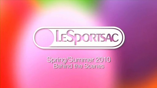 LeSportsac Photo Shoot - image 1 from the video
