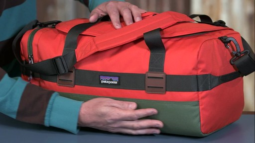 Patagonia Arbor Duffel 30L - image 3 from the video