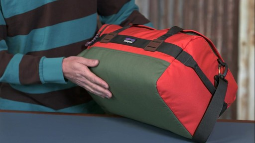 Patagonia Arbor Duffel 30L - image 9 from the video