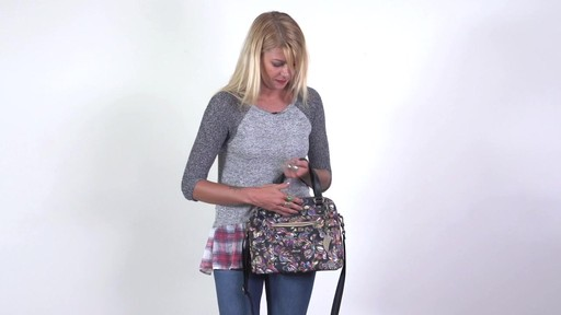 Sakroots - Artist Circle Crossbody Satchel - image 10 from the video