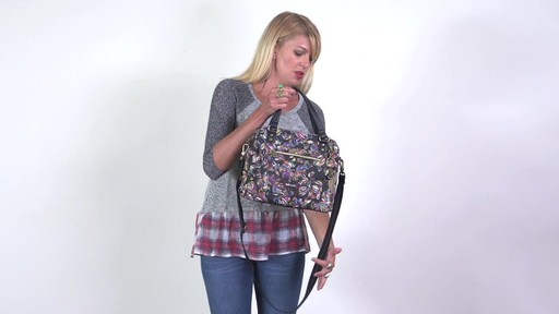 Sakroots - Artist Circle Crossbody Satchel - image 2 from the video