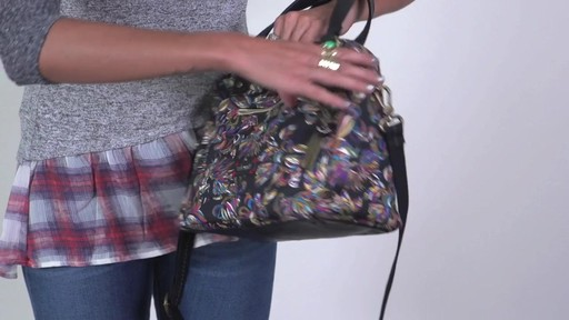 Sakroots - Artist Circle Crossbody Satchel - image 5 from the video