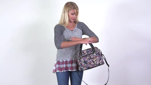 Sakroots - Artist Circle Crossbody Satchel - image 6 from the video
