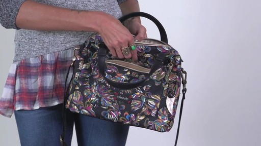 Sakroots - Artist Circle Crossbody Satchel - image 7 from the video