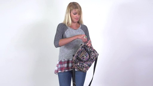 Sakroots - Artist Circle Crossbody Satchel - image 8 from the video