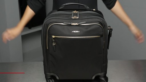 Tumi Voyageur Osona Compact Carry-On - image 2 from the video