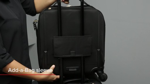 Tumi Voyageur Osona Compact Carry-On - image 6 from the video
