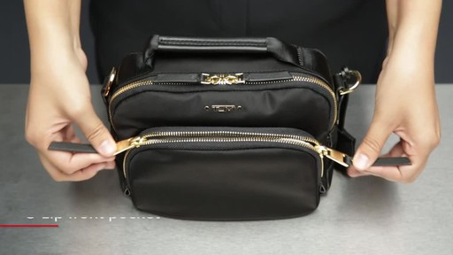 Tumi Voyageur Troy Crossbody - image 3 from the video
