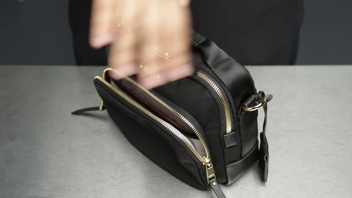 Tumi Voyageur Troy Crossbody - image 5 from the video