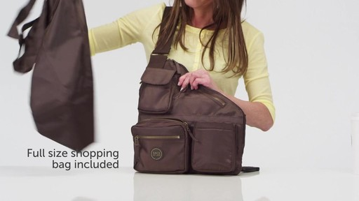 Sacs Collection by Annette Ferber Metro Bag-2 bag Set - eBags.com - image 6 from the video