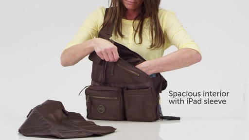 Sacs Collection by Annette Ferber Metro Bag-2 bag Set - eBags.com - image 7 from the video