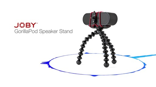 Joby GorillaPod Speaker Stand - image 5 from the video